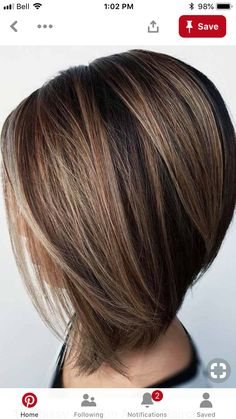 An A Line haircut is perfect for the upcoming season if you want to try something new. It adds volume, texture and versatility to your ordinary hairstyle! highlights 18 Classy and Fun A-Line Haircut Ideas - Hairstyles for Any Woman Inverted Bob Hairstyles, Straight Hairstyles, Stacked Bob Haircuts, Thin Hair Cuts, Bob Hair Cuts, Thick Hair, Bob Haircuts For Women, Trendy Haircuts, Bob Cuts For Women