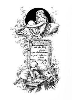 Mikoláš Aleš: Dej mi pán Bůh synka http://www.herbia.cz/products-page/pohlednice/umelecke/page/7/