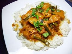 Gordon Ramsay s Malaysian Chicken Curry from Food.com: This recipe came highly recommended and intrigued me as the spice combination was different to any curry I have made. Which if I may say so myself, is a few. That and the fact our household loves a good Sunday afternoon curry.