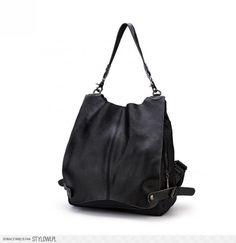 Fashion Black Backpacks/Sling Bags