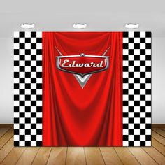 Background Cars Flag Kids Birthday Party Custom Photography Studio Background Photo BackdrParty Photo Booth backdrop in 2020 Car Themed Parties, Cars Birthday Parties, Race Car Birthday, Disney Birthday, Ferrari Party, Auto Party, Party Kulissen, Ideas Party, Car Party