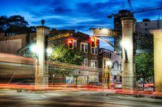 Entrance to downtown Hamilton, Ontario Canada Eh, Visit Canada, Hamilton Pictures, Hamilton Ontario Canada, Dundas Ontario, Best Sites, City Girl, Cool Places To Visit, Spaces