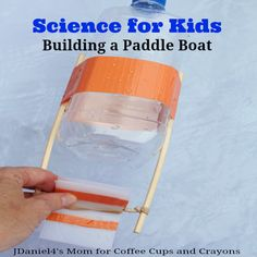 Science for Kids Building a Paddle Boat Facebook