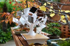 Electree- charge your devices with noting but solar power from this electric bonsai tree