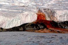 Antarktis: Das Geheimnis des blutenden Taylor-Gletscher