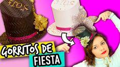 Manualidades para Año Nuevo!! | Cómo hacer divertidos Gorritos de Fiesta...