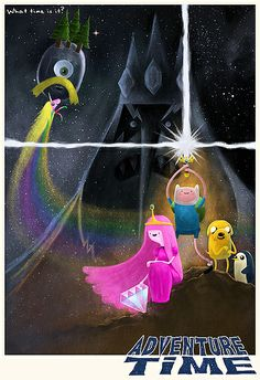 Adventure Time v. Star Wars