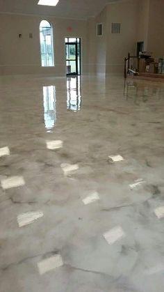 Stained Concrete, Concrete Floors, Hardwood Floors, Epoxy Concrete, Decorative Concrete, Concrete Crafts, Concrete Patio, Metallic Epoxy Floor, Glitter Floor
