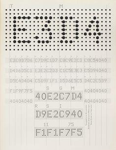 Image result for dot matrix typography poster