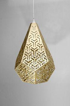 Sacred Geometric Light Y Pendant #cozodesign