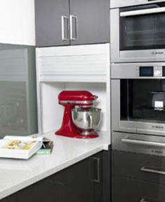 Kitchen appliance-Kitchen Storage Ideas by Masters Home Improvement