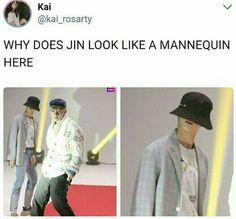 You have no idea how hard I laughed when I paused it at this moment LMAOOOOO – ❃ bts – Bts Fun Namjoon, Seokjin, Hoseok, Bts Jin, Bts Bangtan Boy, Bts Boys, Btob, Vixx, K Pop