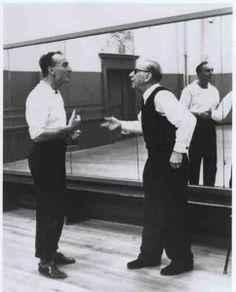 Stravinsky, the 20th century's leading ballet composer, with Mr. B: http://www.dance-teacher.com/2012/09/igor-stravinsky/ #DanceHistory #MusicHistory #ThrowbackThursday