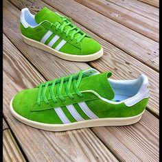 adidas originals Campus 80's: Lime Green