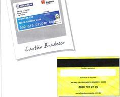 Cartão saúde bradesco da Michelin