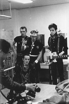 The Clash by Sho Kikuchi, Tokyo, January, 1982
