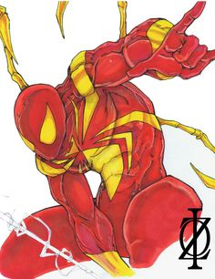 Iron Spider-man by ChrisOzFulton on DeviantArt