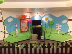 Awesome Dr. Seuss idea for the Classroom Library!