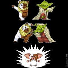 Ewok + Yoda =?