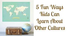 Easy and fun family activities to do with your kids to teach them to appreciate other cultures and raise global awareness. Why didn't I think of these????