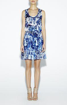 Mason Blue Lagoon Dress - New Arrivals www.nicolemiller.com