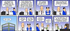Dilbert comic strip for 12/01/2013 from the official Dilbert comic strips archive.