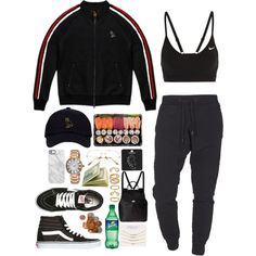 Midnight snack by poetic-tuesday on Polyvore featuring October's Very Own, NIKE, Vans, Dolce&Gabbana, Aéropostale, Topshop, Lucien Piccard, Forever 21, Uncommon and TIGHA