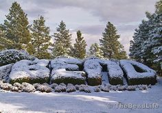 The Bend Life... entering Bend from the south... fresh snow!  Bend Oregon