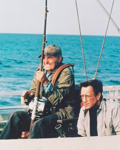 jaws movie stills | picture of roy scheider as police chief martin brody robert