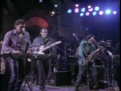 Fantastic!!!! Neville Brothers with John Hiatt and Herbie Hancock - Yellow Moon
