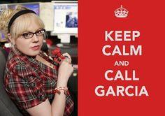 Criminal Minds... <3 <3  <3 <3  <3 <3 García!!!!!!