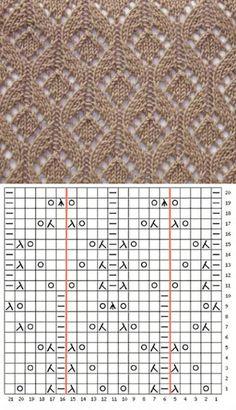 DIY Stricken sweater knitting pattern Bridal Jewelry - Don't just wear it for the wedding Article Bo Lace Knitting Stitches, Lace Knitting Patterns, Knitting Charts, Loom Knitting, Knitting Designs, Knitting Socks, Stitch Patterns, Loom Scarf, Giambattista Valli