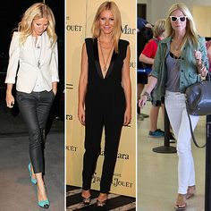 Gwyneth Paltrow's Ultrachic Style M.O. — and How to Get It For Less Every celebrity style crush also inspires a little jealousy as we sigh, I wish I could look like that. That said, we're putting an end to our envy and making that celeb-inspired look our own wardrobe reality, starting with fashion pro Gwyneth Paltrow. The A-lister can sing, dance, act, and hit every red carpet, awards show, and airport terminal without missing a beat. She takes risks (remember her midriff-baring Pucci gown…