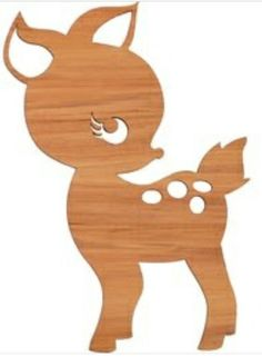 BAMBI for the girls furniture? Wood Crafts, Diy And Crafts, Paper Crafts, Wood Projects, Woodworking Projects, Woodworking Patterns, Girls Furniture, Scroll Saw Patterns, Art Patterns