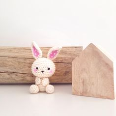 Crochet bunny instagram Profil @ hannapopana