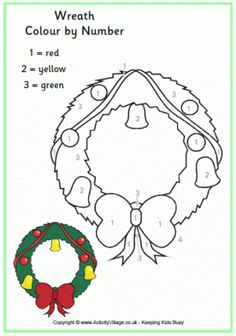 Advent Wreath Coloring Page - Christmas Coloring For Kids
