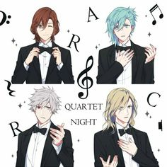 Uta no Prince-sama || Quartet Night★ #Utapri