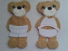 Tear bears are used, but not limited too; scrapbook embellishments, cards and card toppers, wall hangings, baby shower decor, and so much more. Each are handmade by myself with great detail and time. Each are acid free and made with paper piecings and mulberry (thick fuzzy paper). Measuring appro...