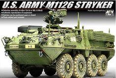 Academy AFV CLUB 1/35 Plastic Model Kit US Army M1126 STRYKER 13284 NIB