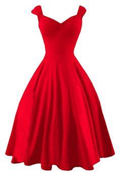 Jiujiuyi Women's Hepburn Style Pleated Vintage Swing Dress JIUJIUYI http://www.amazon.com/dp/B014W20LXW/ref=cm_sw_r_pi_dp_pjVgwb1EG3ZD4