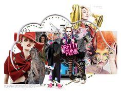 """9"" by azzow ❤ liked on Polyvore featuring Marc, Comme des Garçons, Alice + Olivia, Oscar de la Renta and Fendi"