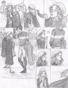 Lily and James  second thoughts by *burdge-bug on deviantART  but her final undoing?  his quidditch uniform.