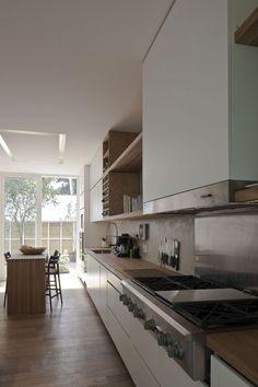 #cocina #conestilopropio: la elección de materiales es un reflejo de la personalidad, en este caso el protagonista es la madera