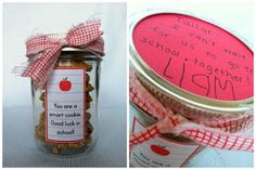 Creative Party Ideas by Cheryl: First Day of School Ideas (even more ideas!)