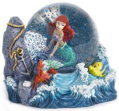 Disney Little Mermaid mini Snowglobe