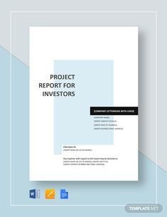 Word Template Design, Word Design, Cover Page Template, Report Template, Project Proposal Template, Proposal Templates, Cover Page For Project, Creative Cv, Google Docs