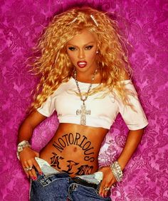 waaay before Nicki Minaj. Icon Lil' Kim was the definition of cool.