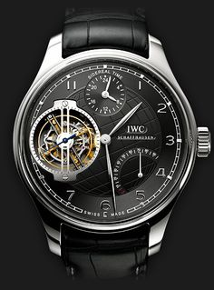 IWC Schaffhausen | Fine Timepieces From Switzerland | Collection | Portuguese Sidérale Scafusia | Portuguese Sidérale Scafusia