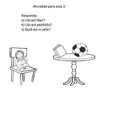 Laetitia Puerorum: Atividade para aula 2