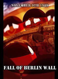 The fall of Berlin Wall
